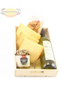 Kistje kaas voor bij de borrel