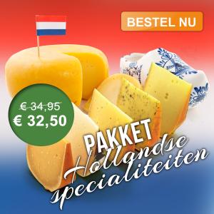 Kaaspakket Hollandse specialiteiten van Delekkerstekaas.nl